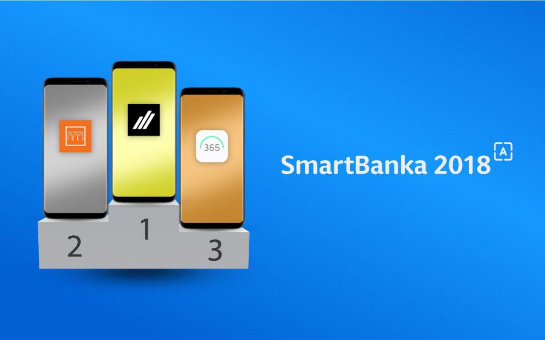 Smart Banka 2018: Populárna anketa o najlepšie mobilné bankovníctvo